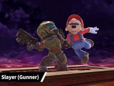 Doom guy Mii Fighter