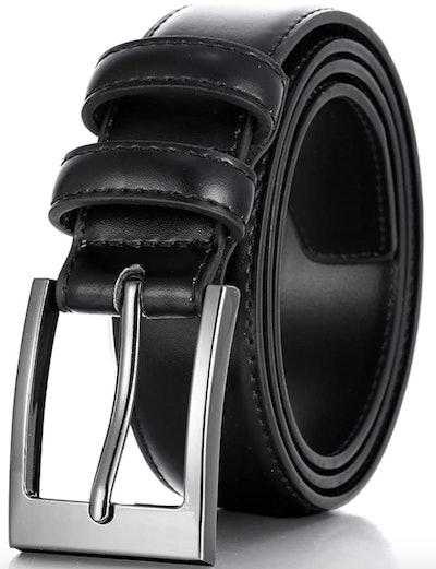 Marino's Men Genuine Leather Dress Belt