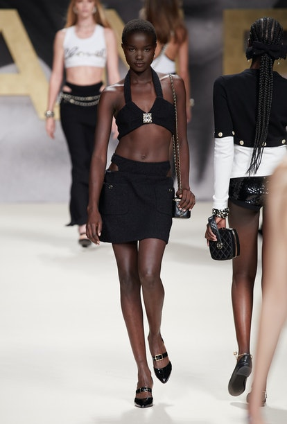 A look from Chanel's Spring 2022 collection.