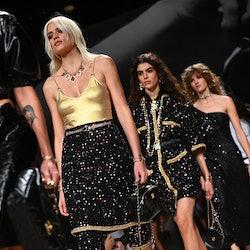 Models at Chanel
