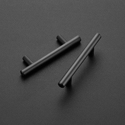 Ravinte Matte Black Cabinet Pulls (30 Pack)