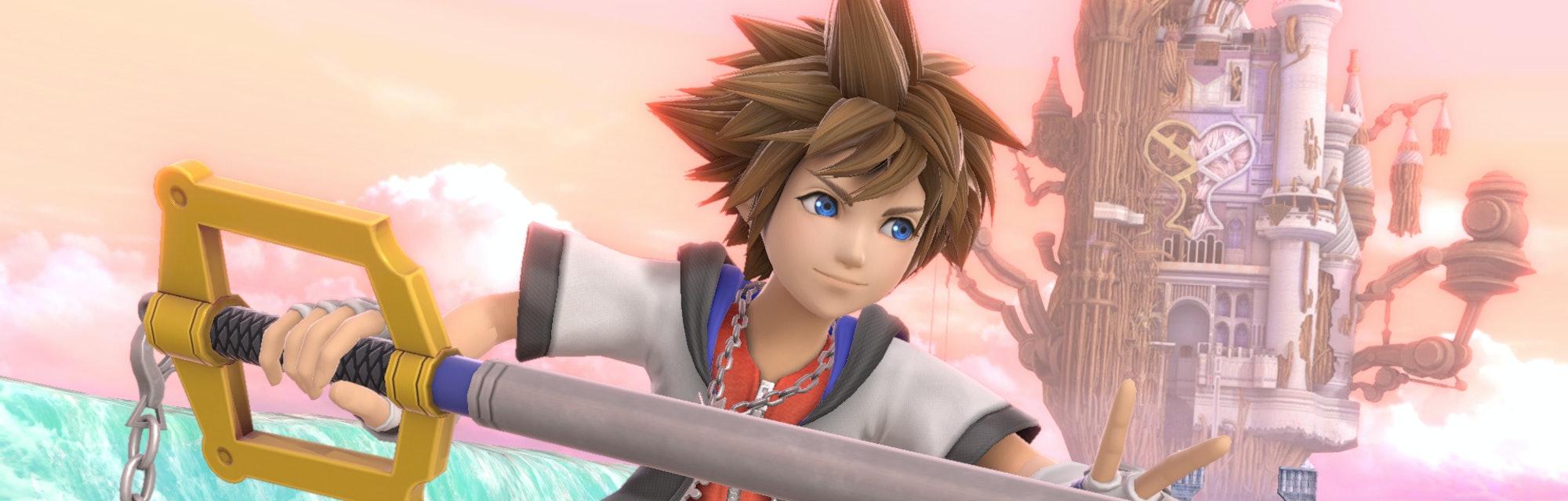 sora smash ultimate close up screenshot