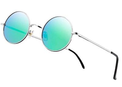 NIEEPA John Lennon Round Sunglasses