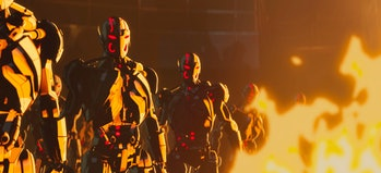 A legion of Ultron sentries in What If...? Episode 8
