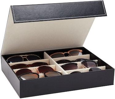 Juvale 8 Slot Glasses Storage Case