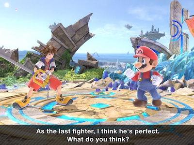 Sora in 'Smash'