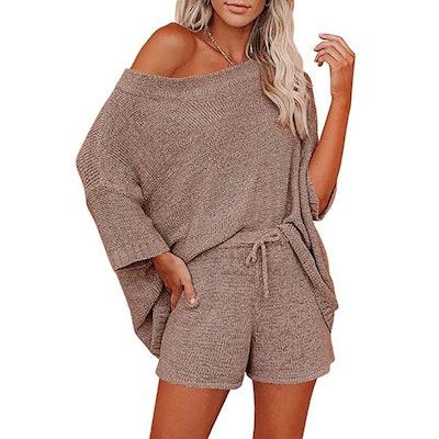 Mafulus Knit Dolman Loungewear Set (2 Piece Outfit)