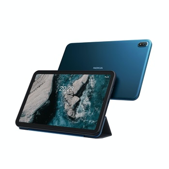 Nokia T20 tablet with large 2k screen