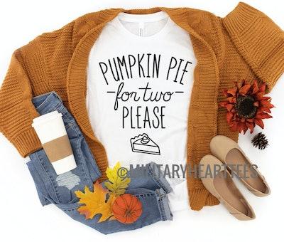 Pumpkin Pie For Two Shirt