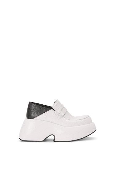 Wedge Slip On Loafer