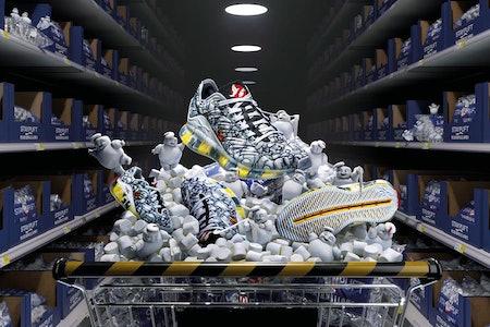 Reebok x Ghostbusters Zig Kinetica sneaker