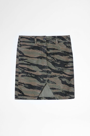 Jeu Camou camo printed skirt from Zadig & Voltaire.