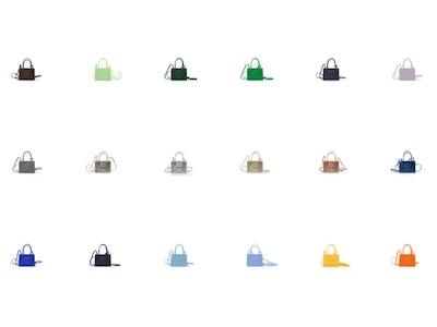 Telfar Shopping Bags small