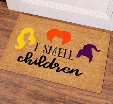 These Halloween doormats include so many 'Hocus Pocus' designs.