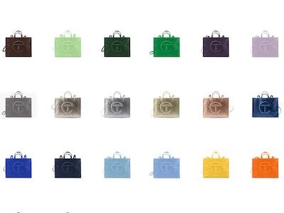 Telfar Shopping Bags large