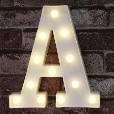 Pooqla LED Marquee Letter Sign
