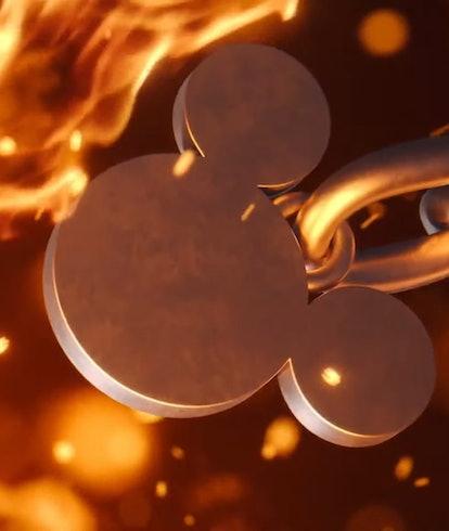 Keyblade Mickey Fire