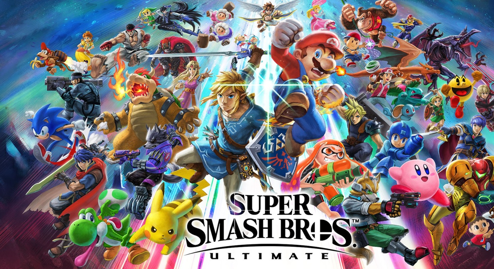 A still from Super Smash Bros. Ultimate