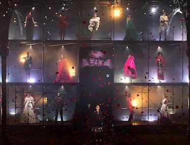 The grand finale of the AZ Factory Alber Elbaz tribute show