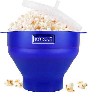 KORCCI Original Microwaveable Popcorn Popper