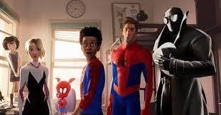 Spider-Man: Into the Spider-Verse (2018).