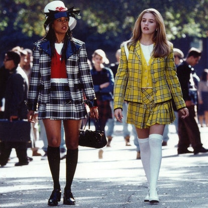 Cher and Dionne's outfits from Clueless are an easy, recognizable '90s Halloween costume idea
