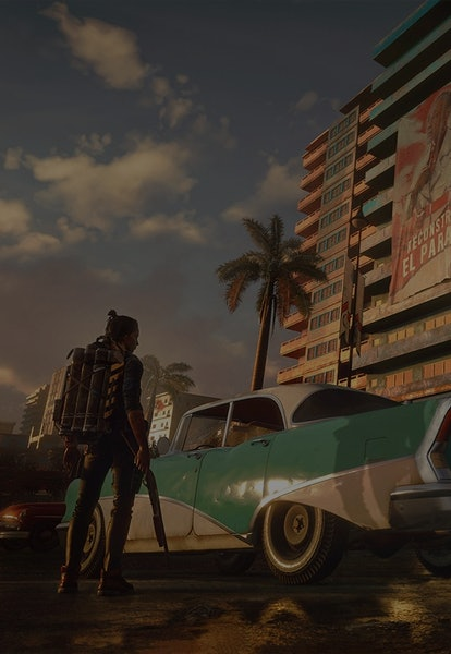 screenshot from Far Cry 6 video game