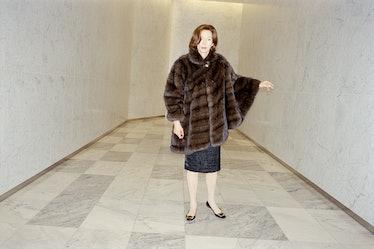 "An image from ""Social Studies,"" with Tilda Swinton, W magazine, 2008."