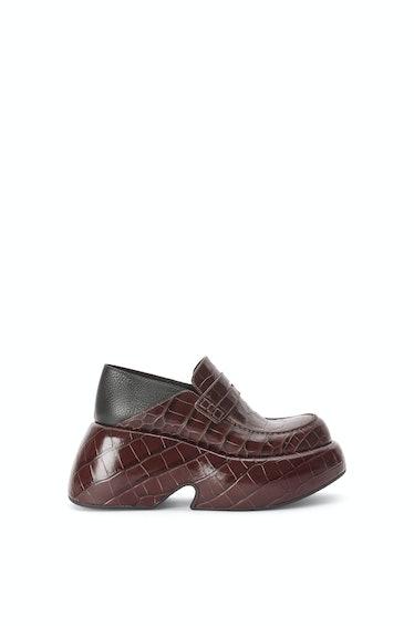 Wedge Slip-On Loafer