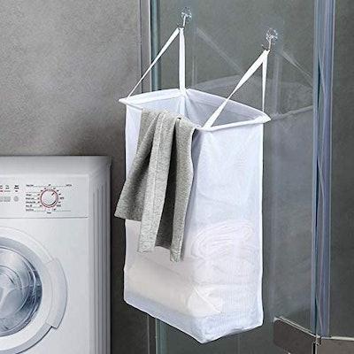 FANTASIEN Mesh Hanging Laundry Hamper (2 Pack)