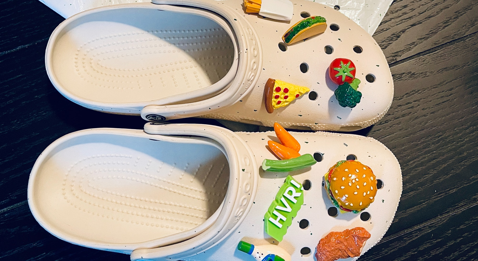 Crocs Hidden Valley Ranch clogs shoes review on feet