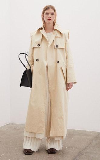 Maribella Cotton Trench Coat