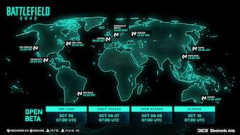 Battlefield 2042 Beta Dates