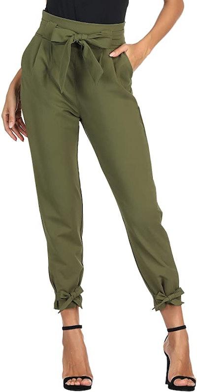 GRACE KARIN Womens Casual High Waist Pencil Pants