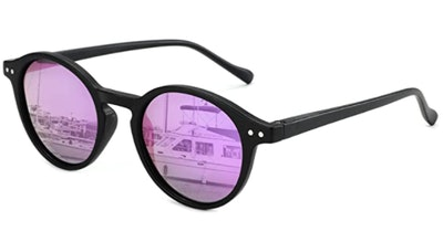 ZENOTTIC Polarized Round Sunglasses