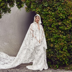 Virginia Cape Gown From Nadia Manjarrez Studio Bridal.