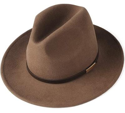 Australian Wool Felt Wide Brim Hat