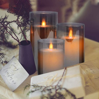 YINUO MIRROR LED Flameless Candles