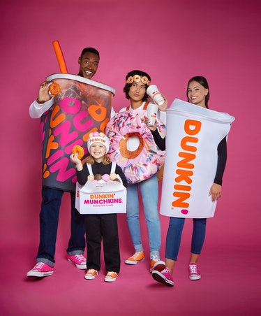 These Dunkin' Halloween costumes at Spirit include a Cold Brew coffee look.