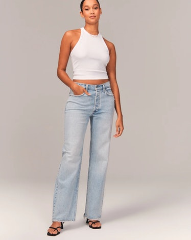 90s Low Rise Baggy Jeans