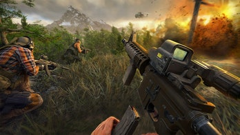 Ghost Recon Frontline first-person gameplay