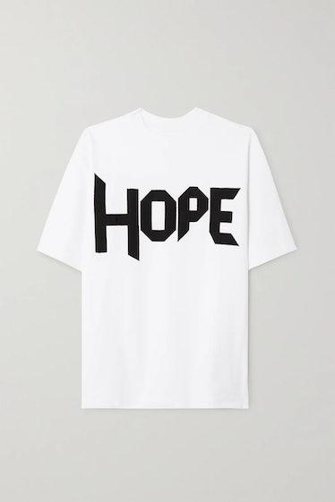 AZ Factory's Hope oversized T-shirt.
