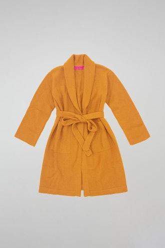 Super Soft Robe in Tangelo from The Elder Statesman.