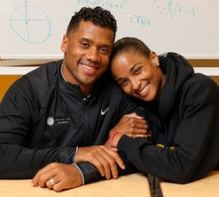 Ciara and Russell Wilson are releasing a children's book called 'Why Not You?'