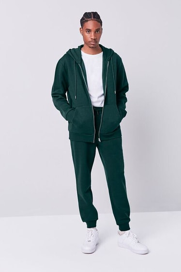The 'Squid Game' players wear green tracksuits.