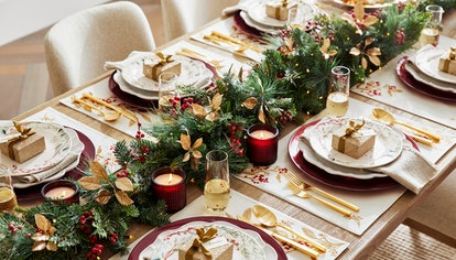 Monique Lhullier X Pottery Barn holiday