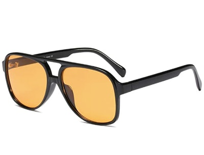 Freckles Mark Retro Sunglasses