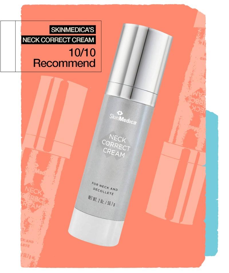An honest review of the SkinMedica Neck Correct Cream.