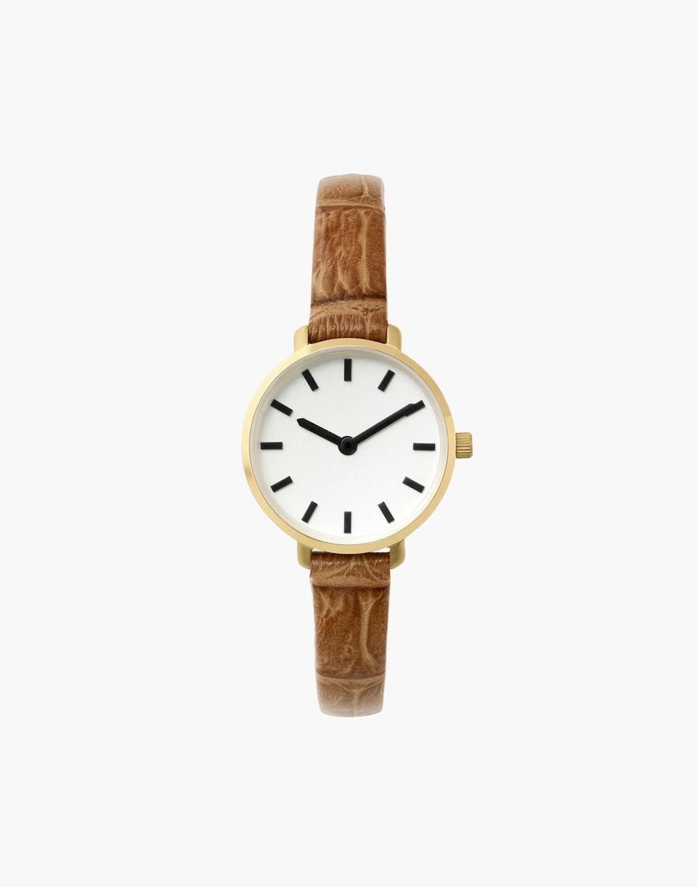 Breda Stainless Steel Beverly Watch