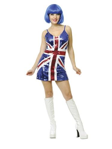 British Babe Sequin Dress